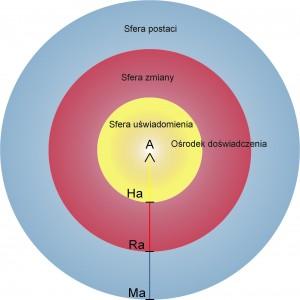Koło świadomości - sfery