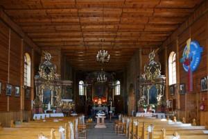 Topola Królewska - kościół1