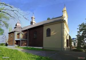 Topola Królewska - kościół2